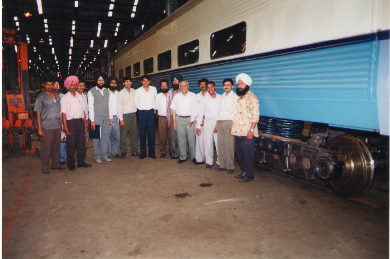 Indian Railways IR30 Project